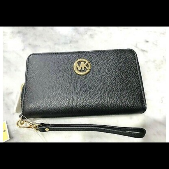 Black new wallet from Michael kors